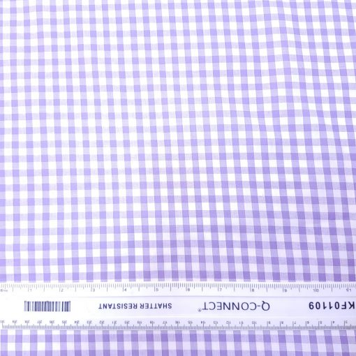 6mm Lilac Gingham