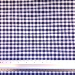 6mm Navy Gingham