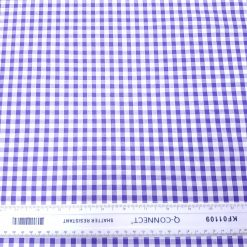 6mm Purple Gingham