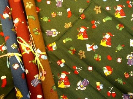 sleigh bells fat quarter chopstix