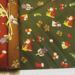 sleigh bells fat quarter chopstix