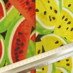 Watermelons cotton fabric