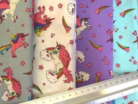 Amazing unicorns cotton