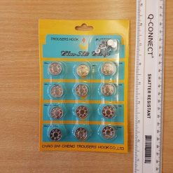 Silver Jeans Buttons