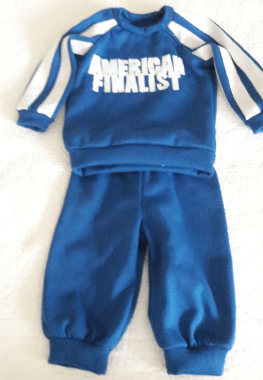 Baby Jog Suit made with Fleece
