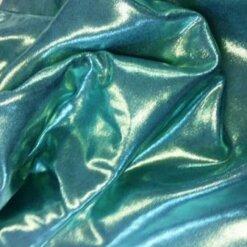 mint foiling metallic lycra