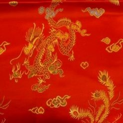 Chinese Embroidered Brocade