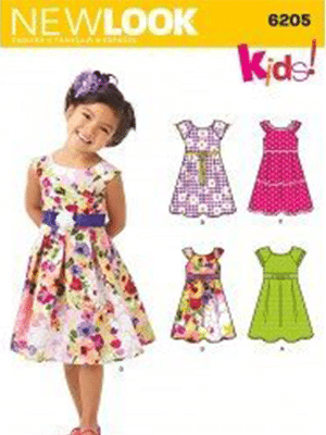 New Look Sewing Pattern 6205   Fabric Land