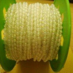 3mm strung beads
