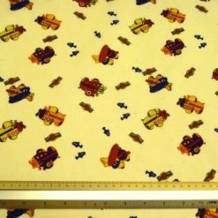 Polyester Cotton Fabric Aeroplanes