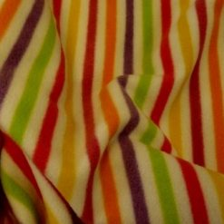 stripes fleece