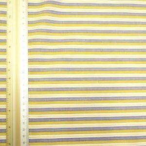 Cotton Fabric Striped
