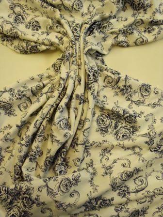 navy floral jessie t-shirting