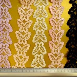 Butterfly Trimming Organdie Lace