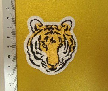 tiger head motif