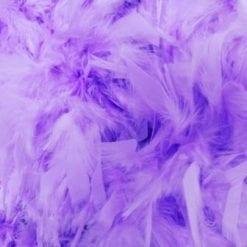 Lilac Feather boa