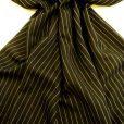 black bugsy malone pin stripe