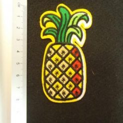 Pineapple Funky Sew On Motif