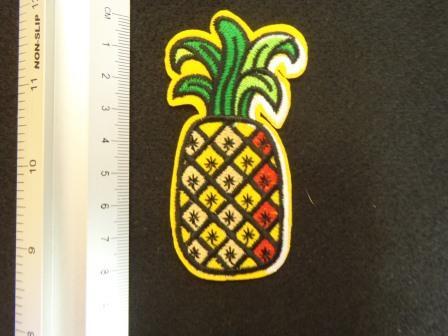Pineapple Funky Sew On Motif