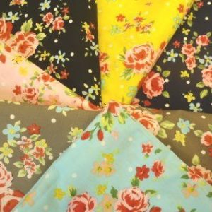 Floral Cotton Fabric Garden Party
