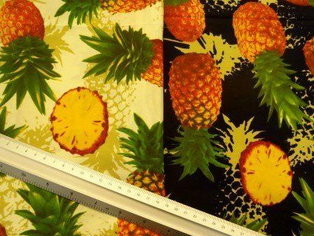pineapples cotton
