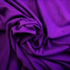 Viscose T-Shirting Fabric Purple
