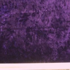 crushed velour lycra purple
