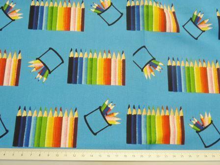 Pencil Cotton Blue