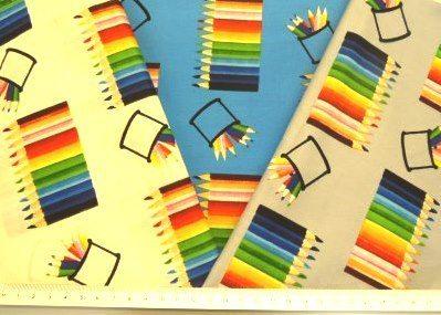 Printed Cotton Fabric Pencils