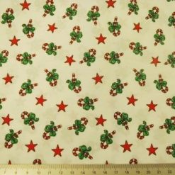 christmas star candy cotton