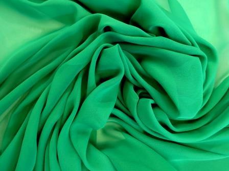 chiffon emerald