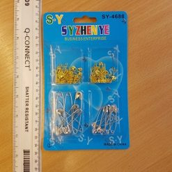 Gold & Silver Safety Pin Packets