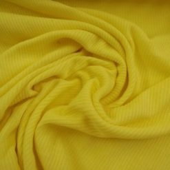 lemon ribbed jersey