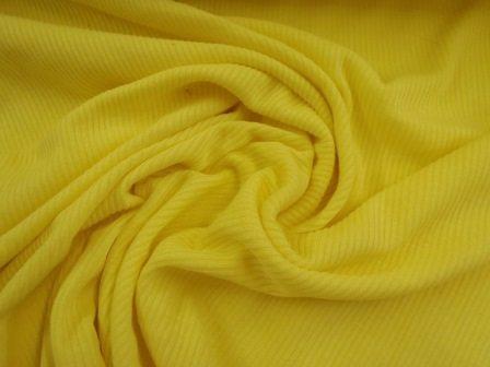 lemon ribbed jersey