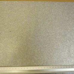 glitter felt rectangle silver