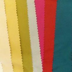 Taffeta Fabric Faux Silk Colours