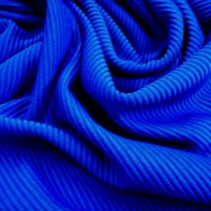 Jersey Fabric Midi Rib Royal