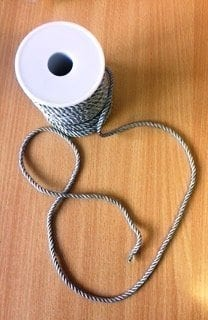 grey cord