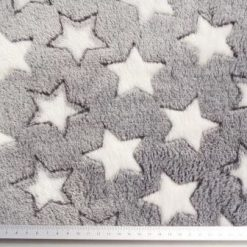 Fleece Fabric Huggable Polyester Night Star