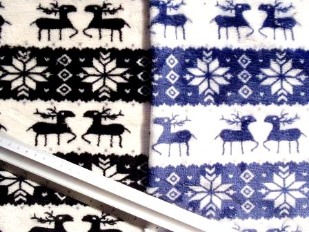 alpine stag winter fleece