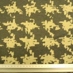 Jersey Fabric Incognito Beige/Grey fabric