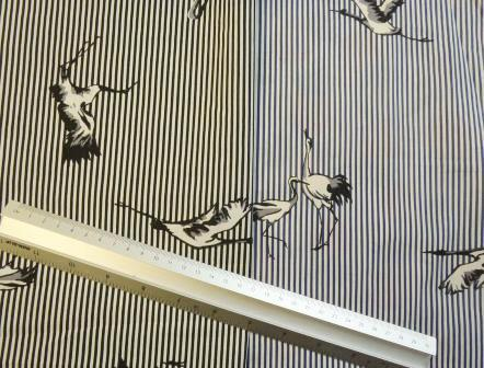 swallow stripe cotton