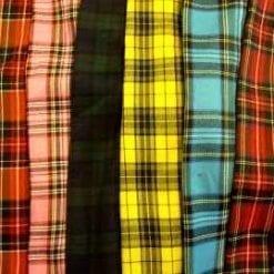 Polyester Tartan Suiting