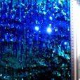 sequin drops blue/jade