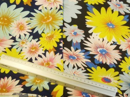 T-Shirting Fabric Floral Mix