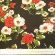 Viscose Fabric Print Floral Spanish Wild Rose