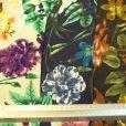 Viscose Fabric Print Floral Vintage Fair