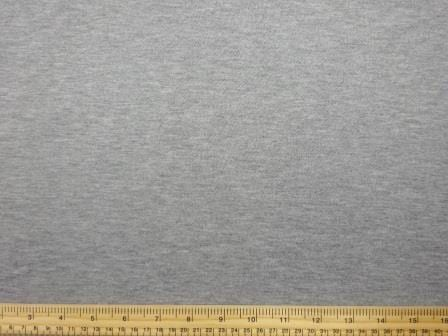 Track Suiting Fabric Plain marl grey