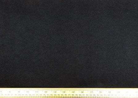 Track Suiting Fabric Plain black