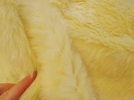 cream luxury fur